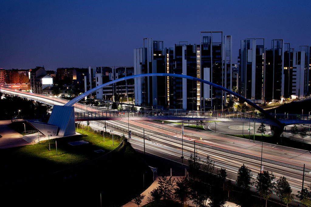 Footbridge Viale Serra Passerella Portello Milan Milano by Arup & SCE Project