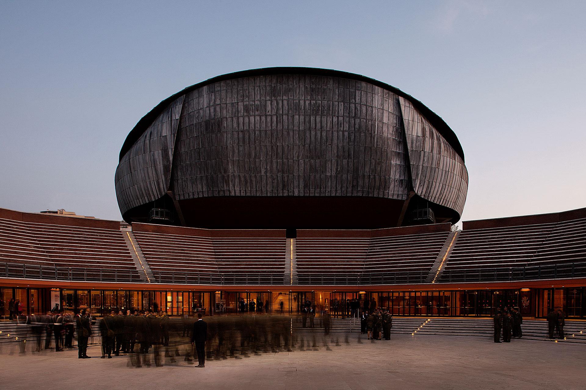 Auditorium Parco della Musica Roma Rome by Renzo Piano & SCE Project