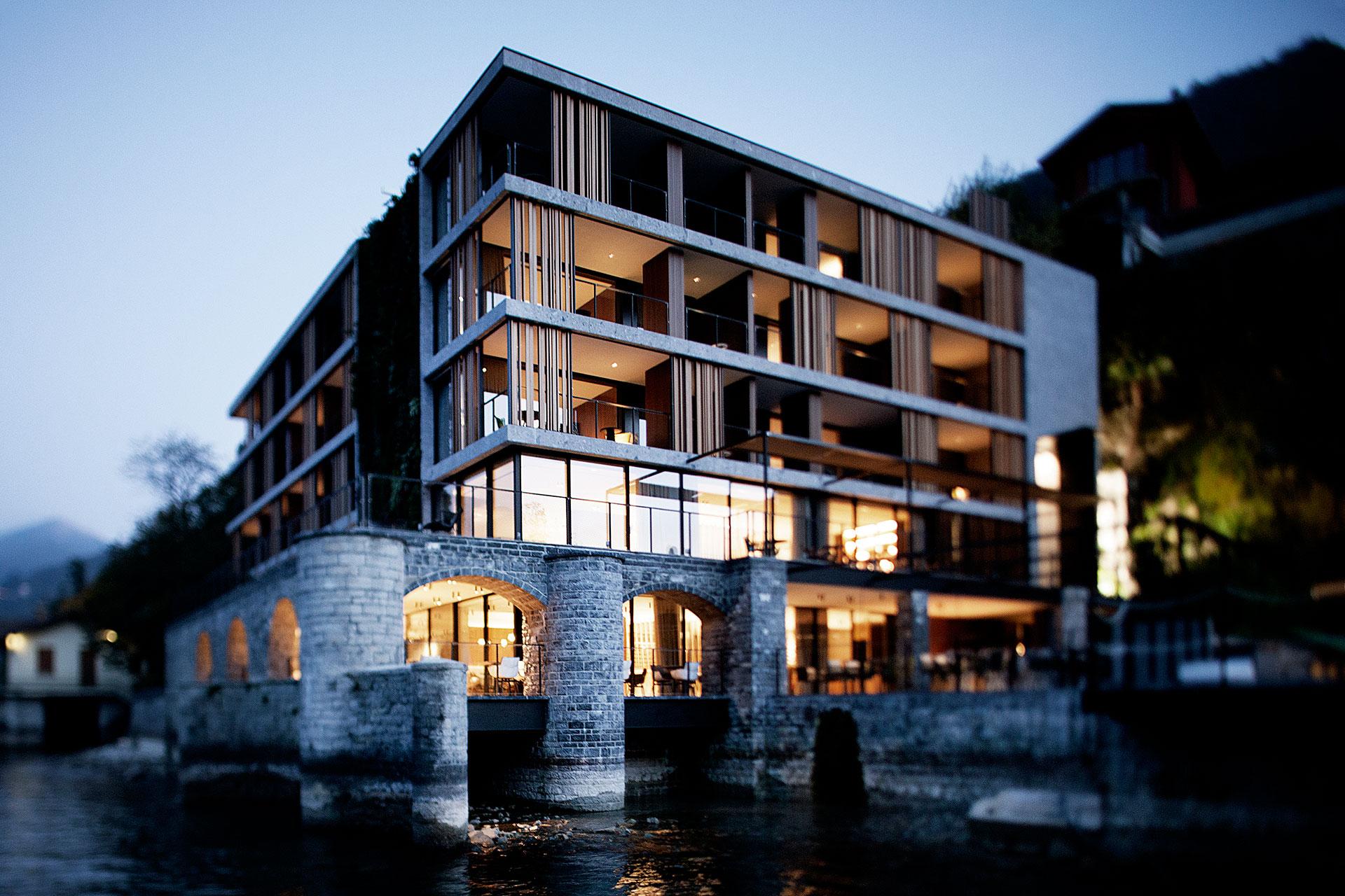 Hotel Le Sereno, Lago di Como by Patricia Urquiola & SCE Project