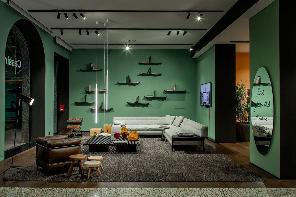 Cassina Showroom Via Durini Milano Urquiola & SCE Project