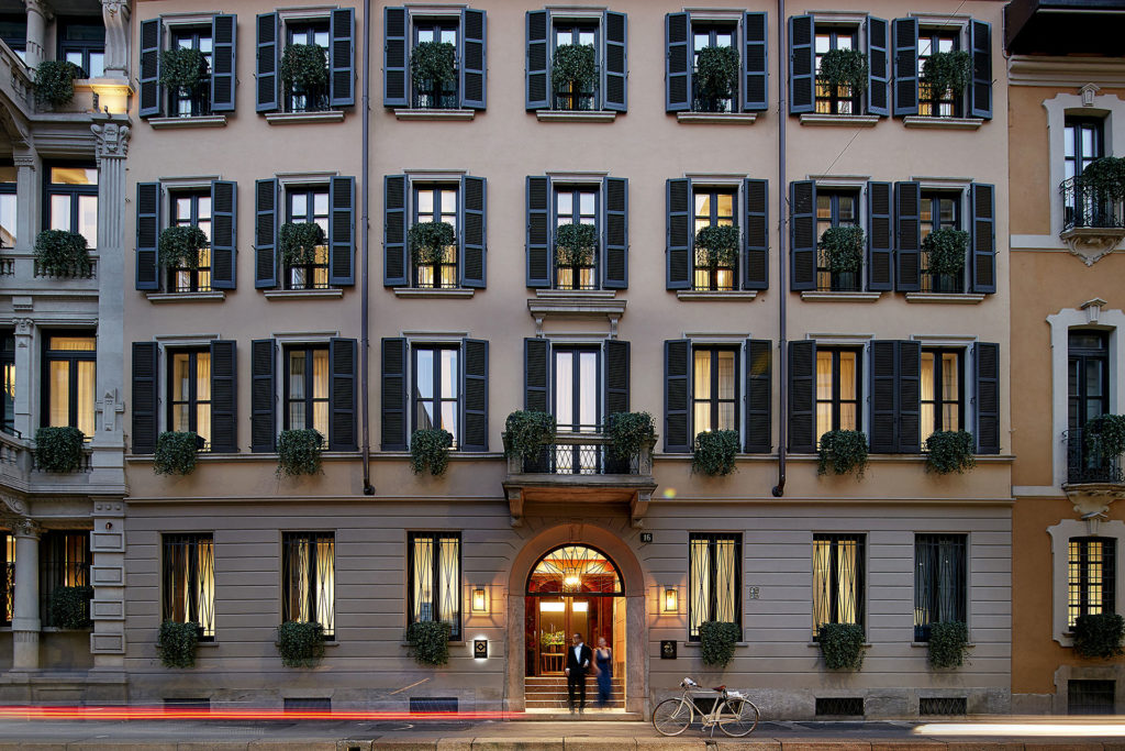 Hotel Mandarin Oriental Milano Milan by Citterio & SCE Project
