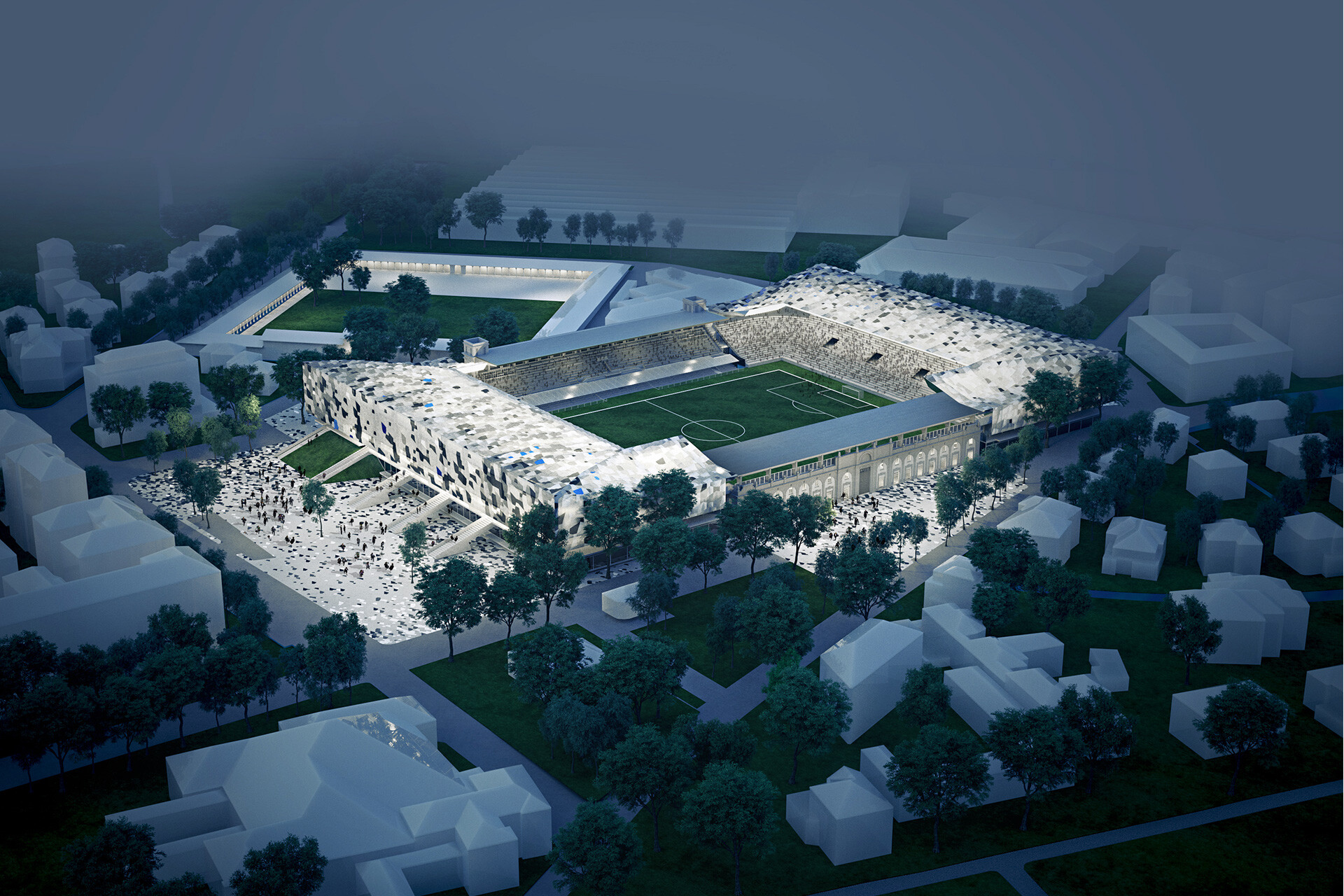 Gewiss Stadium Atalanta in Bregamo by De8 & SCE Project
