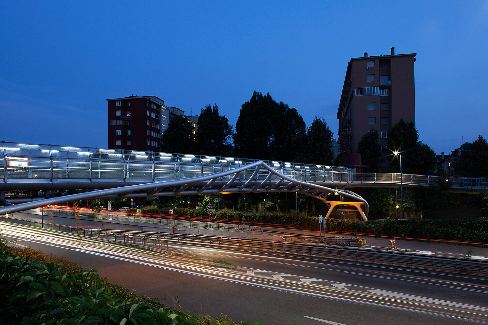 PEDESTRIAN BRIDGE VIA DE GASPERI - PORTELLO 6