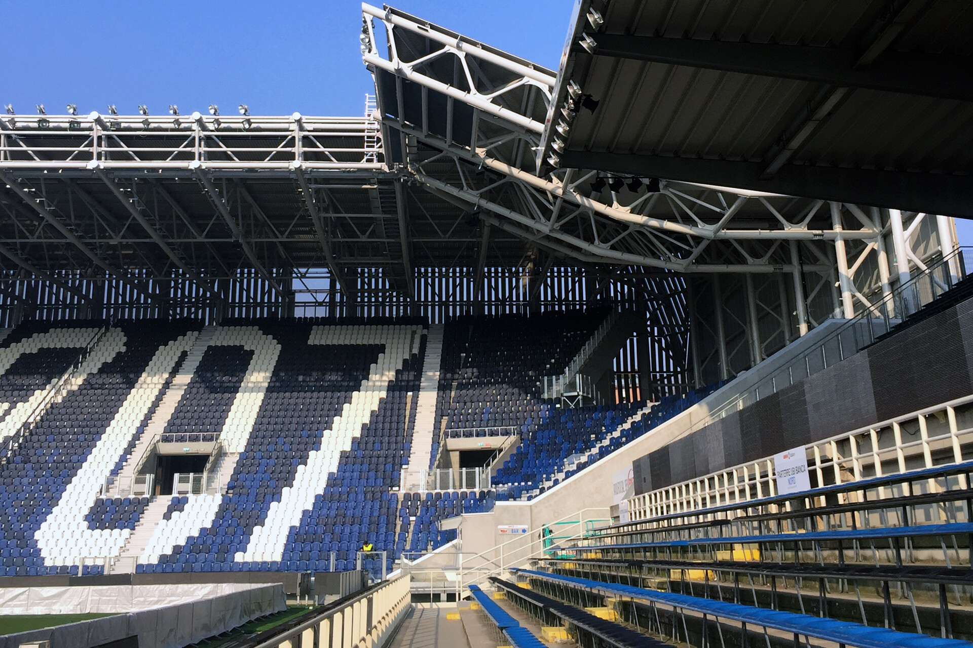 Gewiss stadium Stadio dell'Atalanta a Bergamo by De8 e SCE Project