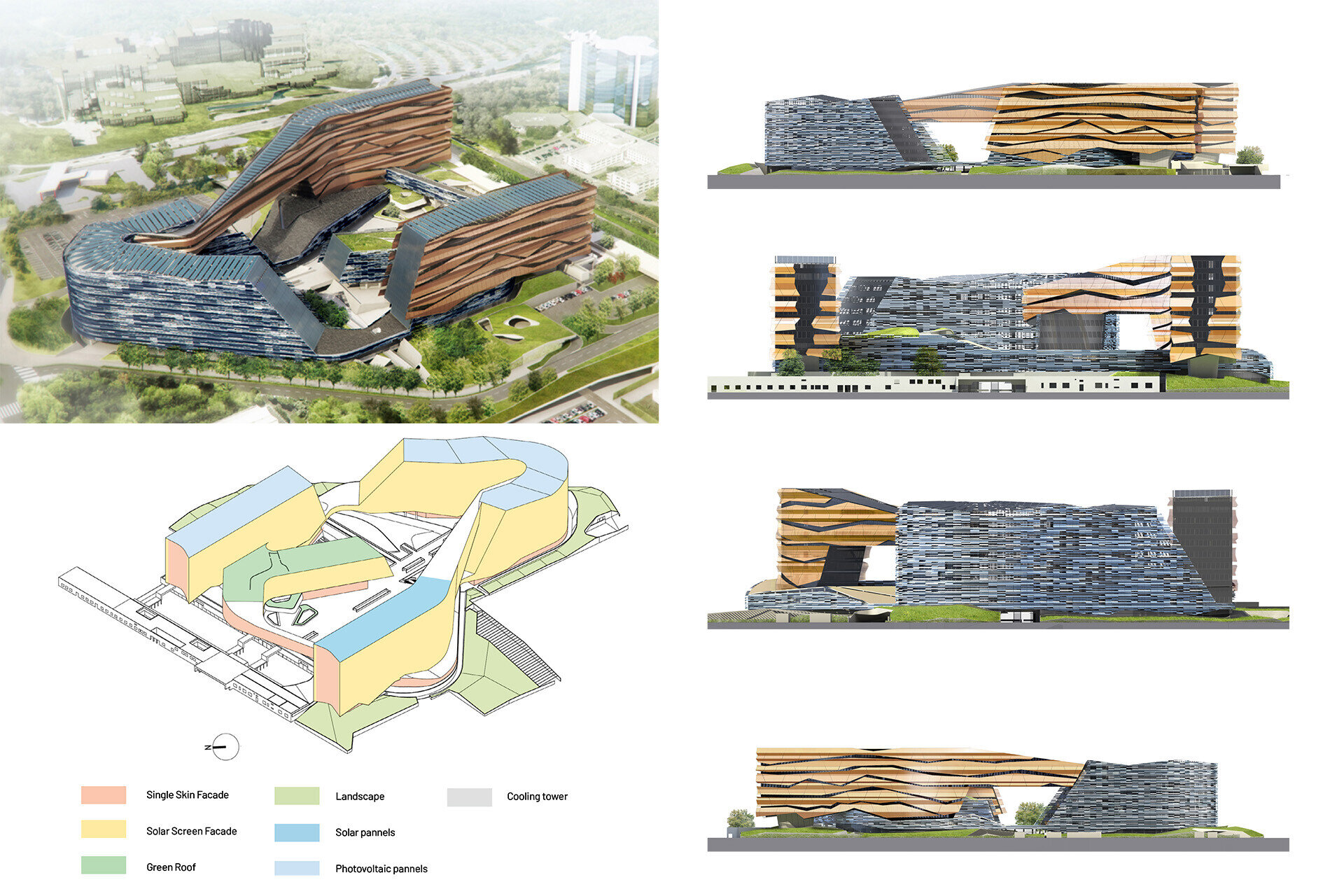 Facade design engineering by SCE Project