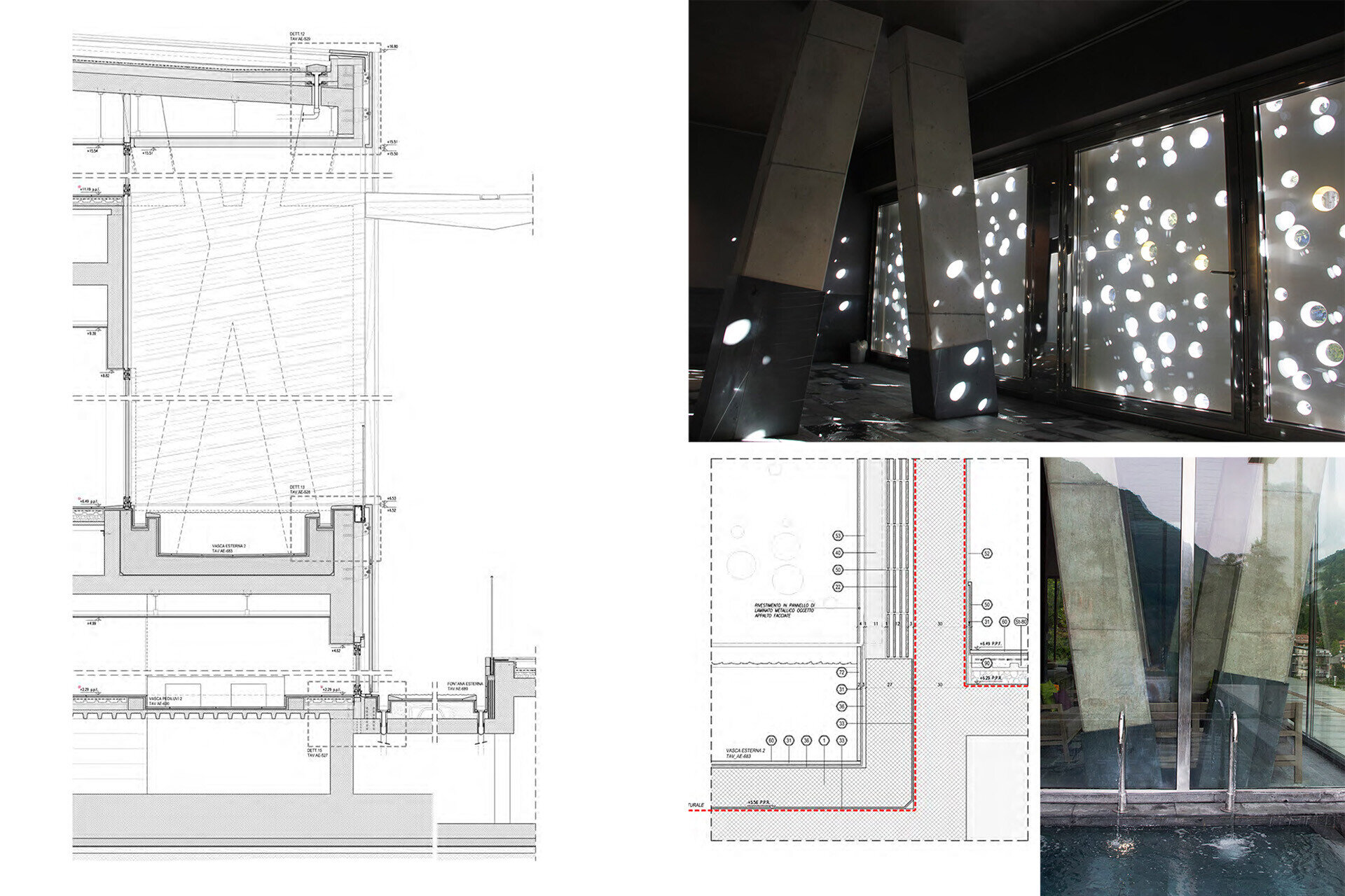 Facade design engineering by SCE Project San pellegrino Dettagli
