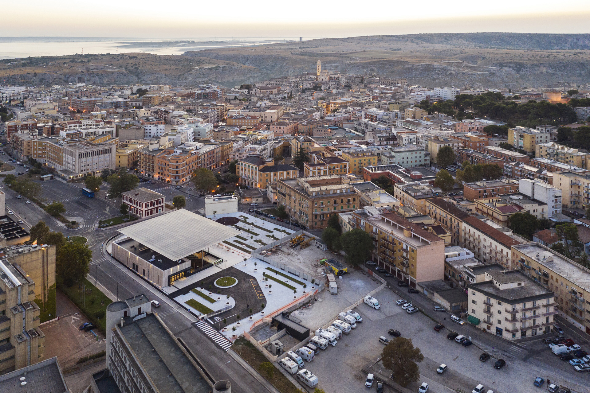 MATERA Centrale FAL treni Train Railway Station Stefano Boeri SCE Project