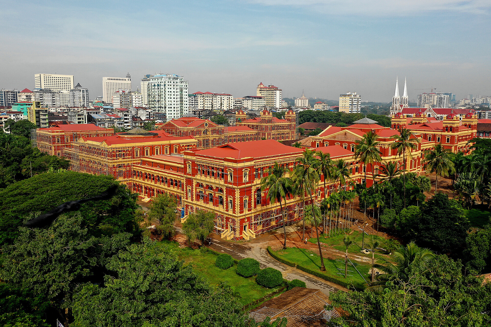 Restoration of the Secretariat in Yangon