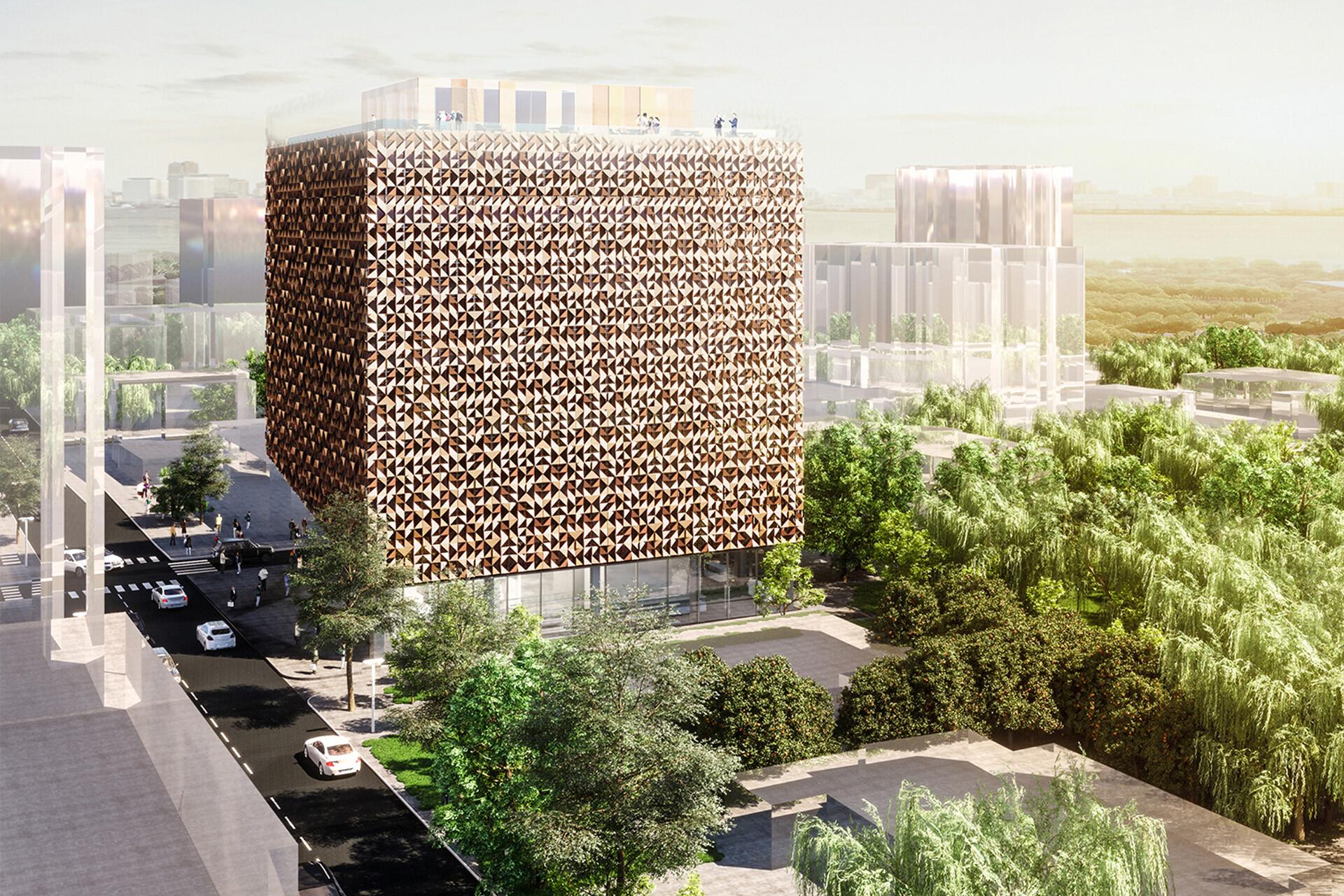 Blloku Cube Tirana Albania SCE Project
