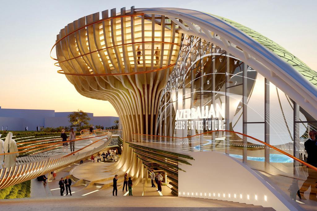 Padiglione Azerbaijan - EXPO 2020