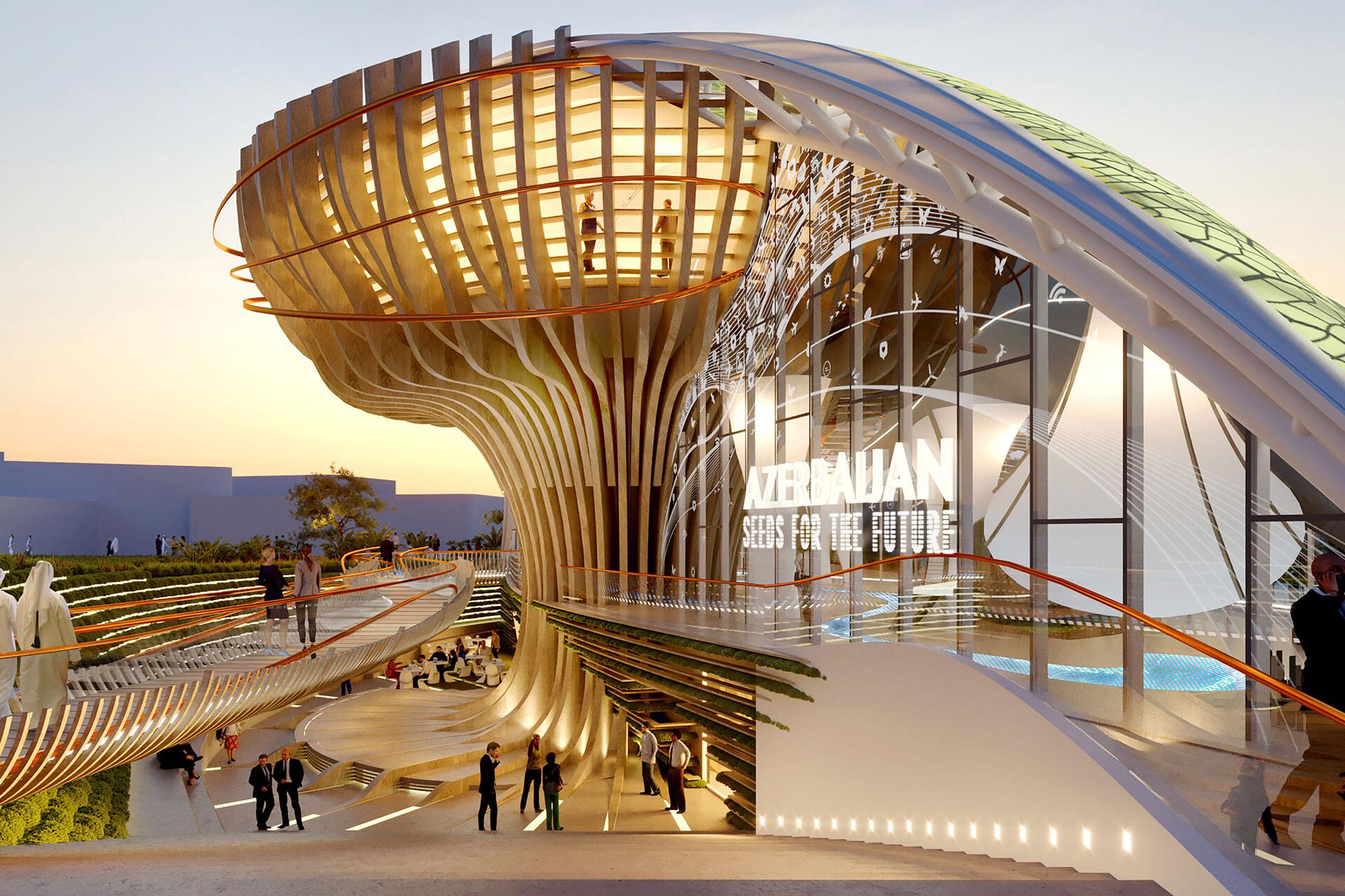 Azerbaijan pavilion - EXPO 2020 SCE Project