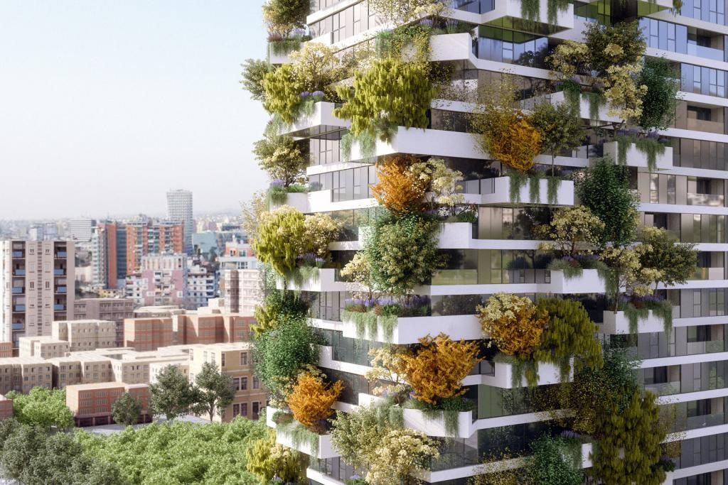 SCE Project Vertical Forest Bosco verticale, Tirana (Albania)
