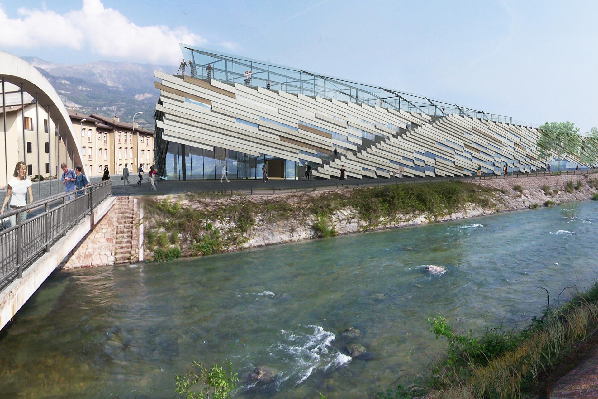 Dettagli strutturali Manifattura Rovereto