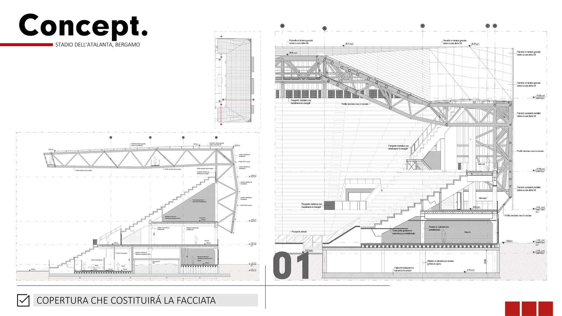 Stadio Atalanta Concetto SCE Project