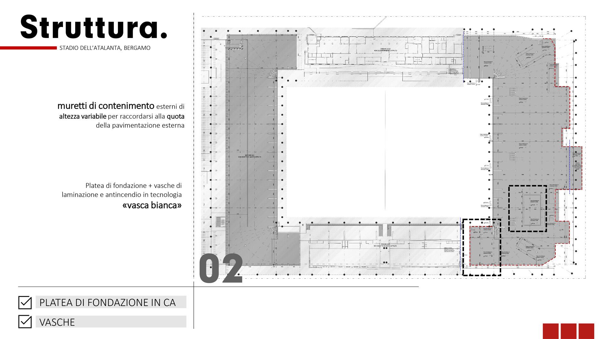 Stadio Atalanta Innovazione Revit SCE Project