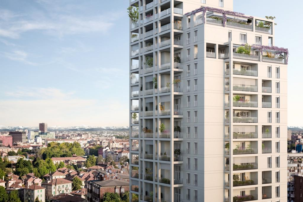 Torre Milano SCE Project Via Stresa High Rise Residential Building
