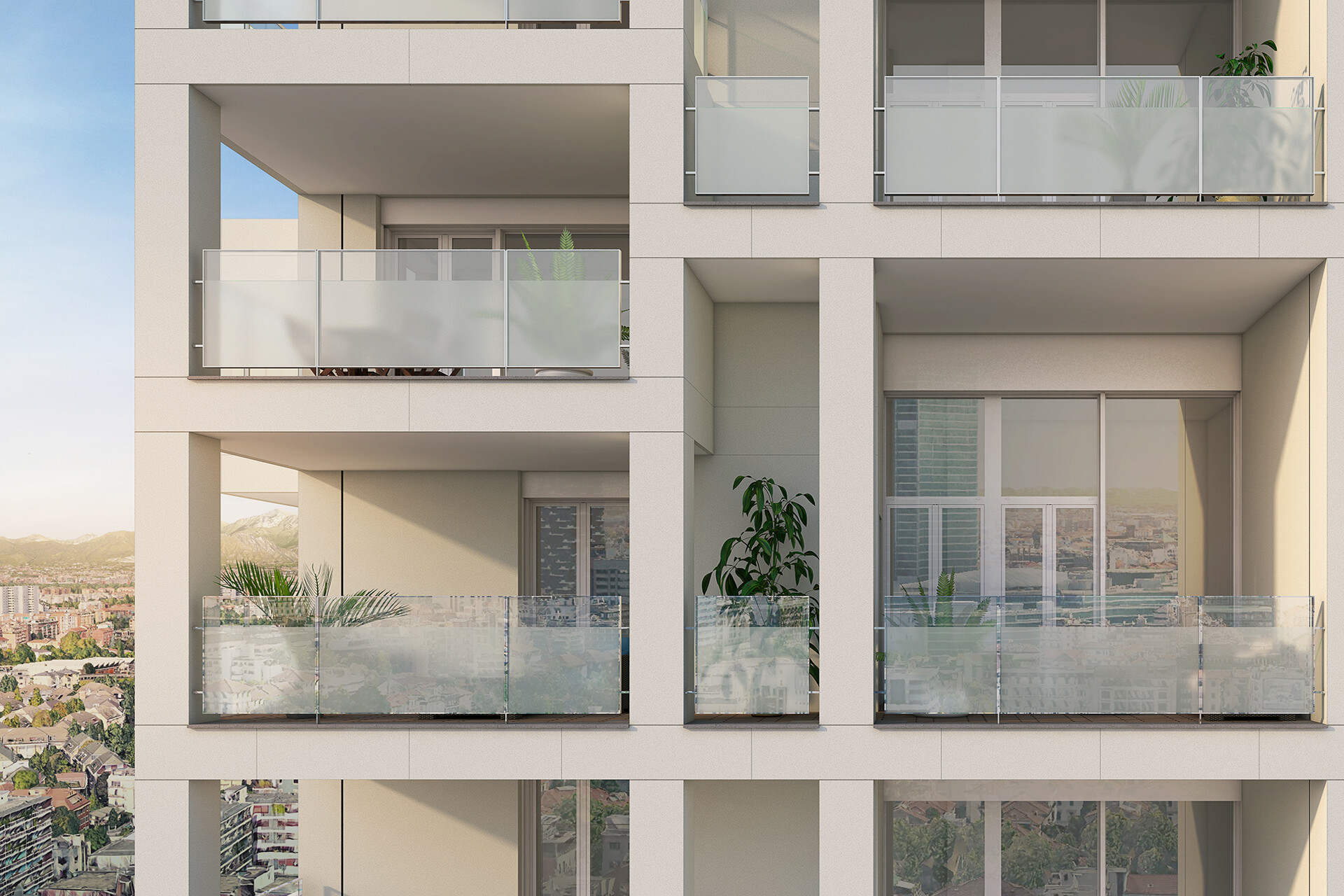 SCE Project Via Stresa High-Rise Residential Building Grattacielo residenziale
