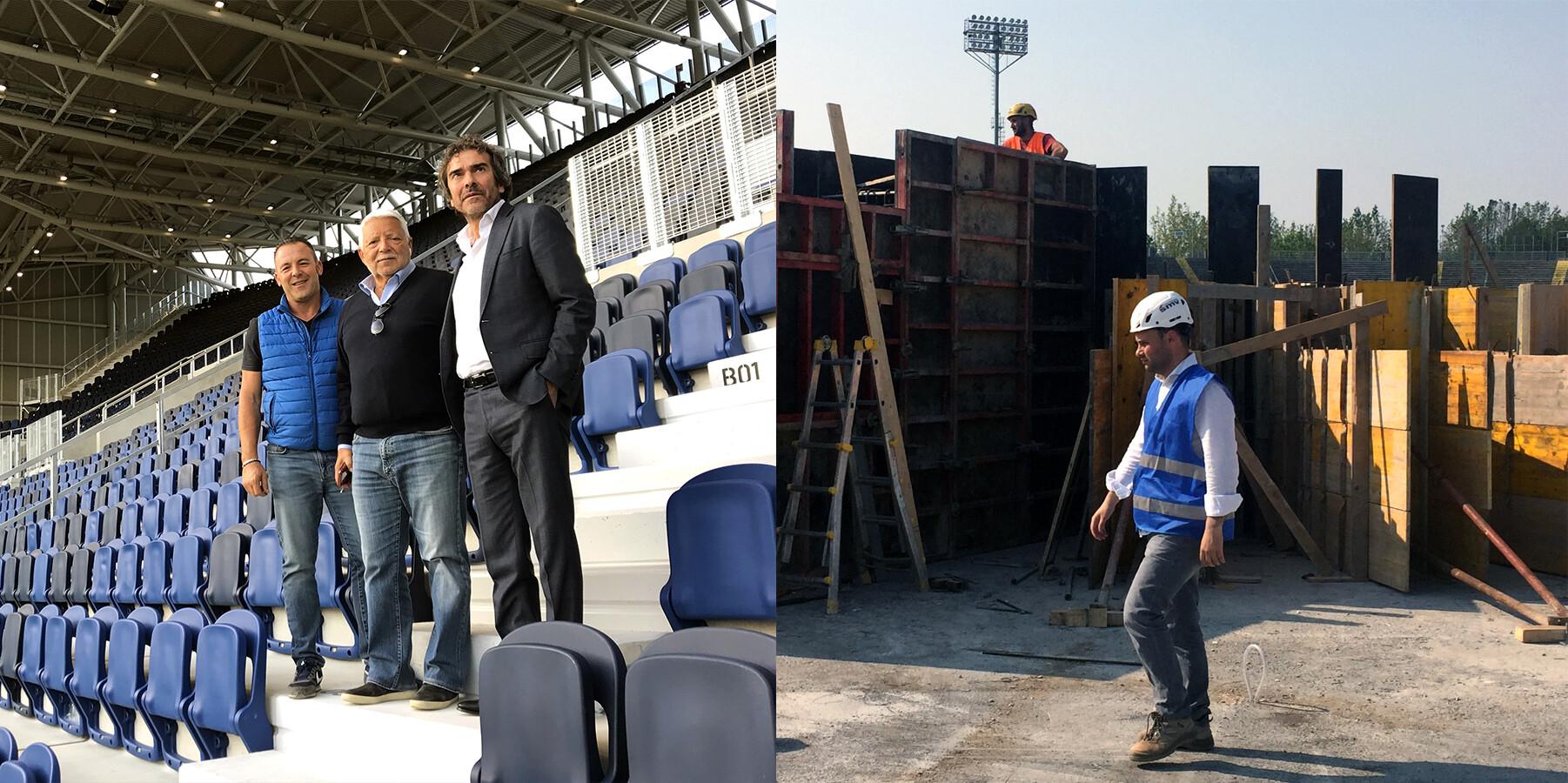 SCE Project Atalanta Gewiss Stadium Stadio BIM