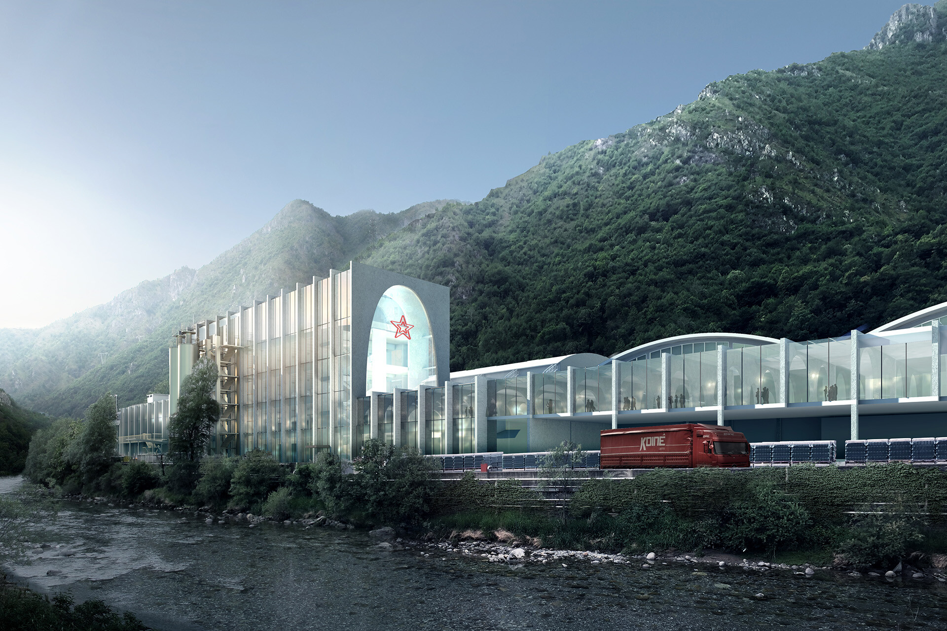 San Pellegrino Flagship Factory SCE Project BIG