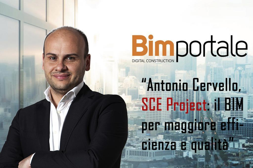 Antonio Cervello Bim Manager SCE Project