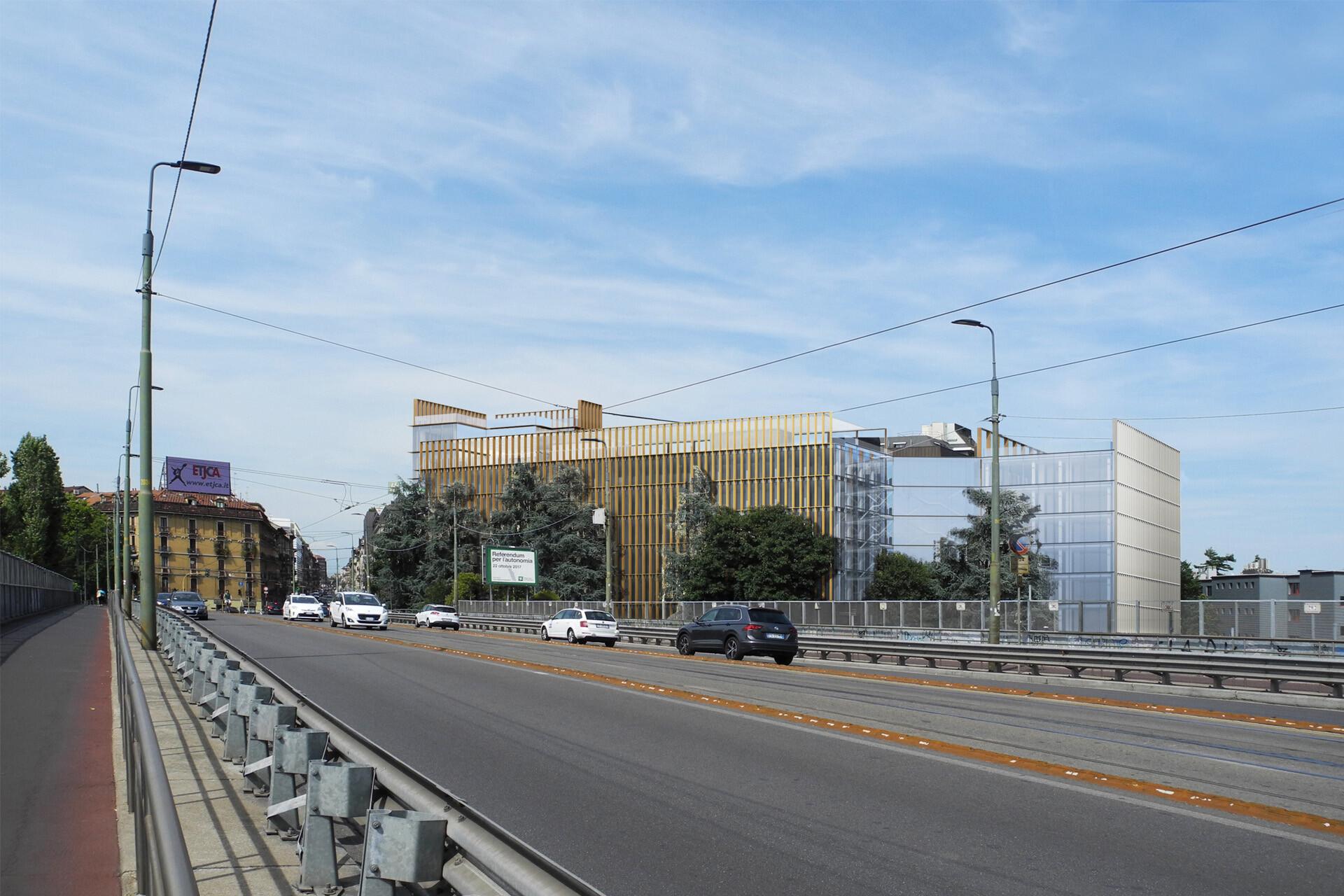 2020 cantiere Milano Ugo Bassi Business Park OBR