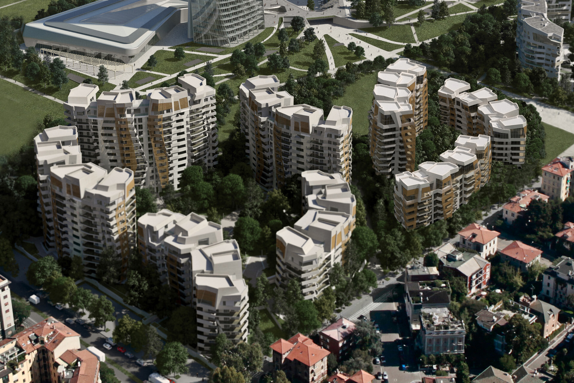 rb2 Residenze Libeskind Citylife SCE Project