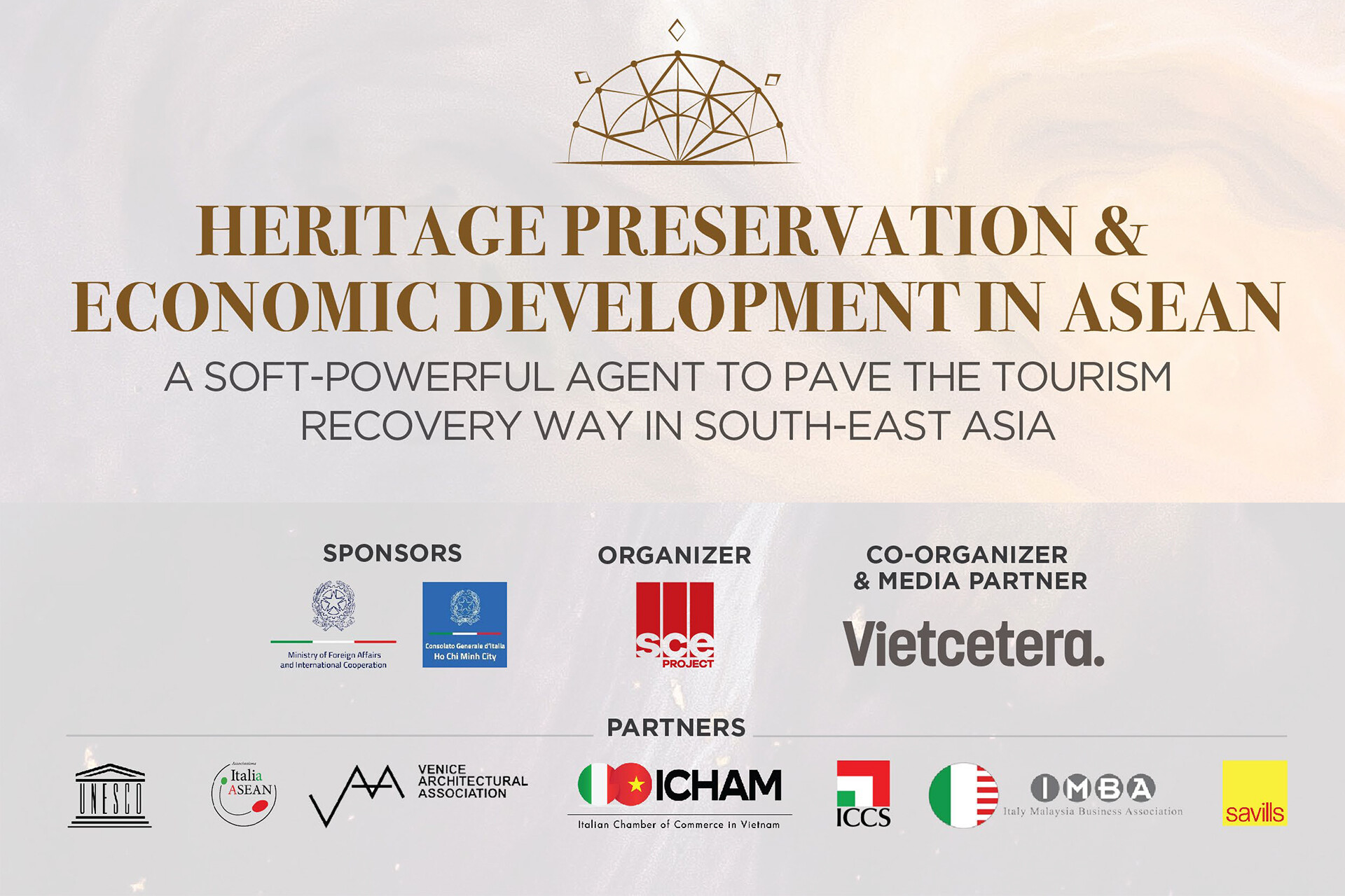 Heritage preservation and economic development in ASEAN Event by SCE PROJECT asia